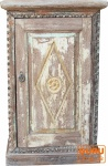 Antiker Beistellschrank, Kommode, Nachttischschrank (JH1-110)