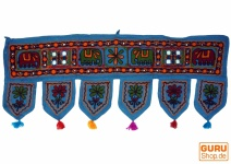 Wandbehang, Wimpel, Toran - dunkelblau