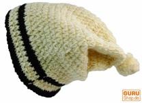 Beanie Mütze 1 - weiß