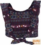Sadhu Bag, Schulterbeutel, Hippie Tasche Chiang Mai - marineblau