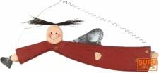 Schutzengel, Weihnachtsengel, Chrisbaumschmuck, Dekoengel - 1 in 4 Farben