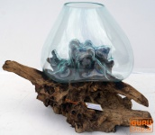 Wurzelholz Vase M5 bis ca. 50 cm
