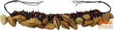 Exotische Rassel Cha Cha Nut für das Fußgelenk - Armband Fußkette 1