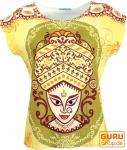 Psytrance T-Shirt, Yoga T-Shirt, Retro T-Shirt - Tara