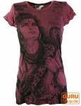 Sure T-Shirt Shiva - bordeaux