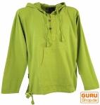 Ethno Sweatshirt Goa Hippie - lemon