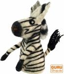 Filz Eierwärmer - Zebra