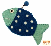 Portemonnaie Fisch in 3 Farben