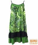 Minikleid Hippie chic - grün