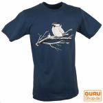 Fun T-Shirt `Flugpause` - blau