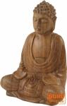 Holzbuddha 11 cm, Dhyana Mudra