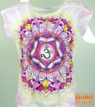 Psytrance T-Shirt, Yoga T-Shirt, Retro T-Shirt - Om Mandala