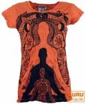 Sure T-Shirt Meditation Buddha - rostorange