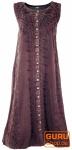 Besticktes Boho Sommerkleid, indisches Hippie Kleid- brombeer - Design 10