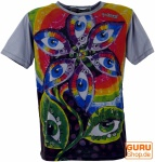 Mirror T-Shirt Drittes Auge - grau