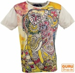 Mirror T-Shirt - Elefant / vanille