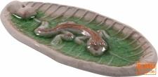 Keramik Räucherstäbchenhalter `Gecko` - Modell 10