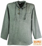Nepal Hemd Goa Hippie Sweatshirt - grau