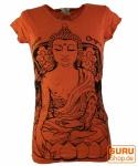 Sure T-Shirt Meditation Buddha - orange