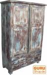 Antikweißer Schrank mit Schubladen (JH1-190)