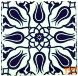 2er Set Kühlschrankmagnet Orient - Design 9