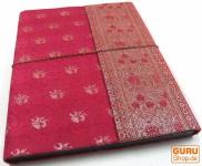 PhotoalbumFotoalben mit Sareeeinband in Pink 26*33 cm