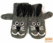 Kinderhandschuhe, Tierhandschuhe Hase