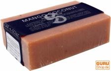 Handgemachte Duftseife, Mango-Kokosnuss, 100 g, Fair Trade