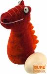 Filz Eierwärmer - Drachen