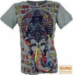 Baba T-Shirt - Ganesh / grau
