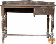 Rustikaler Schreibtisch mit einem Schubfach - Modell 24