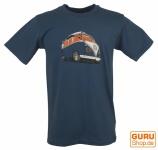 Fun T-Shirt `Bussi` - blau