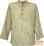 Indisches Hemd, kurze Kadhi Kurta - creme