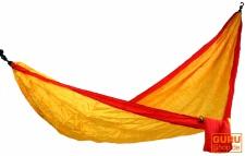 Reisehängematten aus Fallschirmstoff - orange