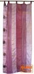 Vorhang (1 Stk.) Gardine aus Patchwork Sareestoff - pink