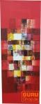 Gemälde auf Leinwand 120*45 cm