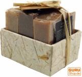 Seifenset, Geschenkset - Coffee Time - 3 x Duftseife 100 g, Fair Trade