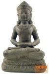 Sitzender Buddha aus Stein 40 cm