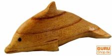 Kleiner Holz Delphin