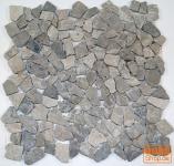 Mosaik Flächen Fliesen aus Marmor-grau (J-03) - Design 8