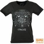 Sternzeichen T-Shirt `Krebs` - schwarz