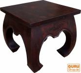 Opiumtisch Bodentisch aus Indien rechteckig