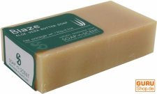 Handgemachte Aloa Vera Butter Seife, Blaze, 120 g, Fair Trade