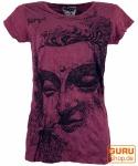 Sure T-Shirt Buddha - bordeaux