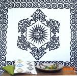 Wandbehang, Wandtuch, Mandala, Tagesdecke Keltisch - Design 1