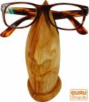 Brillenständer aus Holz - hellbraun