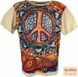 Mirror T-Shirt - Peace / beige