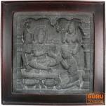 Steinbild Buddha #3