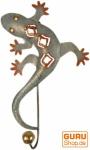 Kleiner Garderobenhaken, Metall Kleiderhaken - Gecko 1