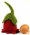 Filz Eierwärmer Glockenblume in 3 Farben